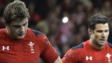 Wales are dejected after the final whistle as they lose 30-26 in a ninth successive defeat by Australia