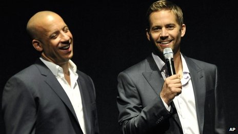 Paul Walker (r) e Vin Diesel