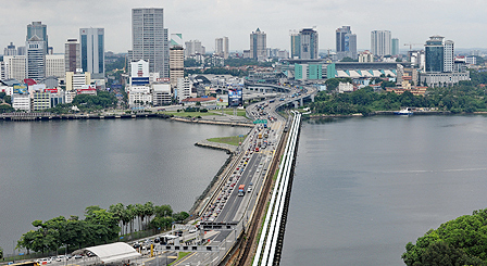 Singapore causeway