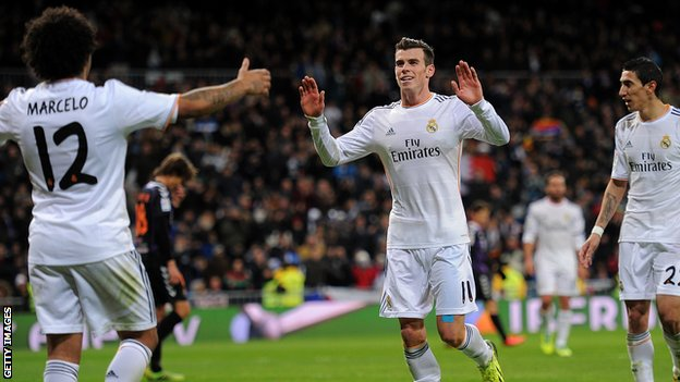 Gareth Bale believes he is still improving after scoring hat-trick