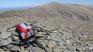 Summit of Pen yr Ole Wen (Pic: Douglas Law)