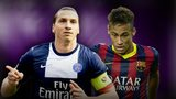 Zlatan Ibrahimovic and Neymar