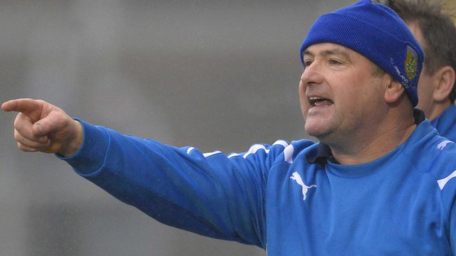 Ballinderry manager Martin McKinless
