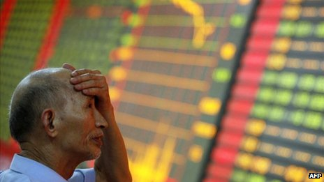 Chinese investor in despair