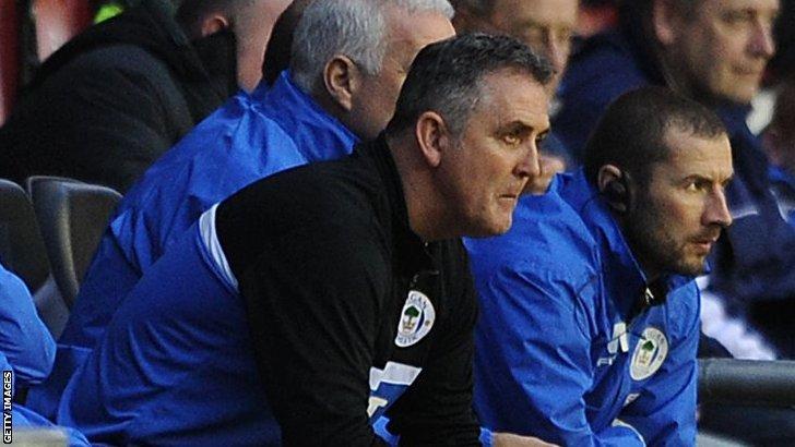 Former Wigan manager Owen Coyle