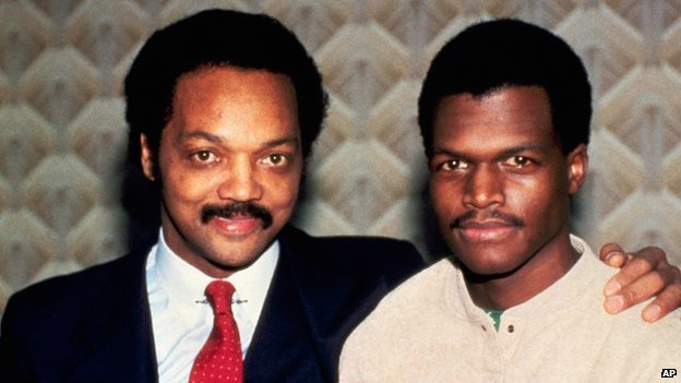 Jesse Jackson and Robert Goodman