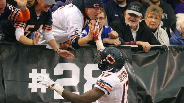 Chicago Bears receiver Alshon Jefferey
