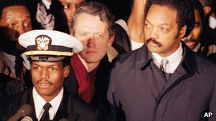 Robert Goodman and Jesse Jackson