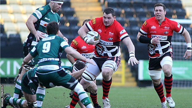 Cornish Pirates v Nottingham