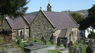St Mary's church, Trefriw
