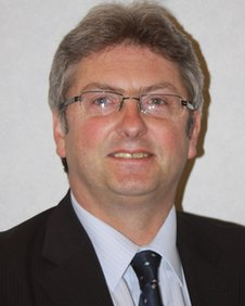 Isle of Man Economic Development Minister, John Shimmin