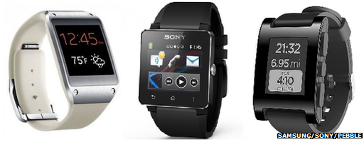 Galaxy Gear, Smartwatch 2, Pebble