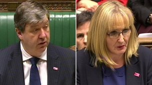 Alistair Carmichael and Margaret Curran