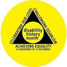 Disability History Month logo