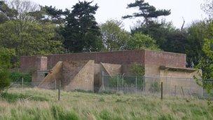 Bawdsey Transmitter Block