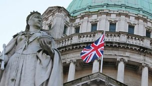 The council voted a year ago to restrict the days that the union flag flies from Belfast City Hall