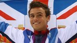 Tom Daley Great Britain flag