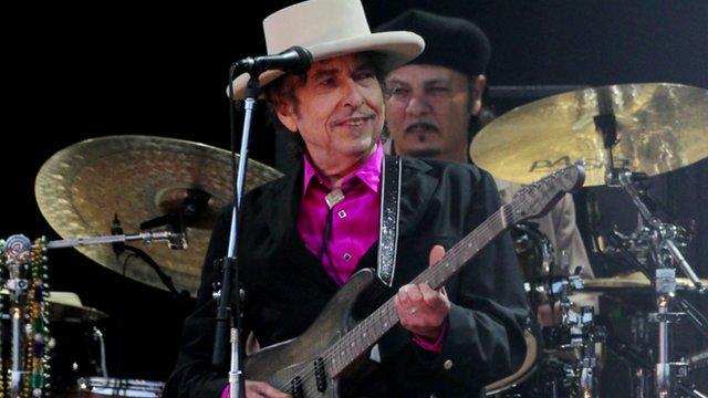 Bob Dylan in concert