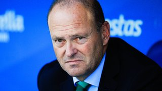 Sacked Real Betis coach Pepe Mel