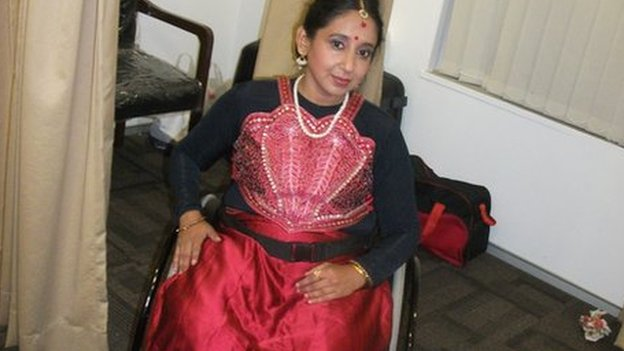 Sarmistha Sinha teaches medicine to students in Calcutta and loves dancing