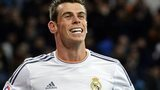 Gareth Bale celebrates after scoring for Real Madrid