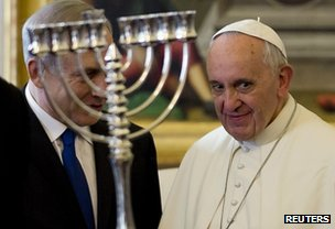 Netanyahu and the Pope