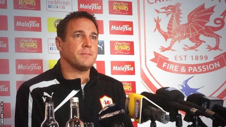 Cardiff City boss Malky Mackay