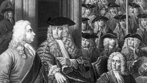House of Commons in Walpole's time