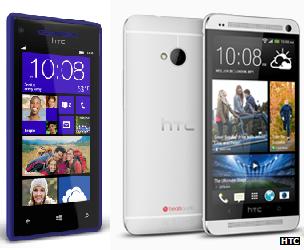 HTC 8X and One Mini