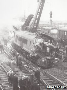 Stanton Gate railway crash