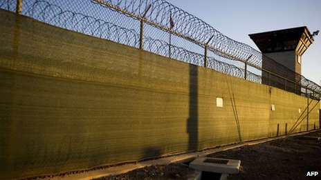 US prison at Guantanamo Bay, Cuba