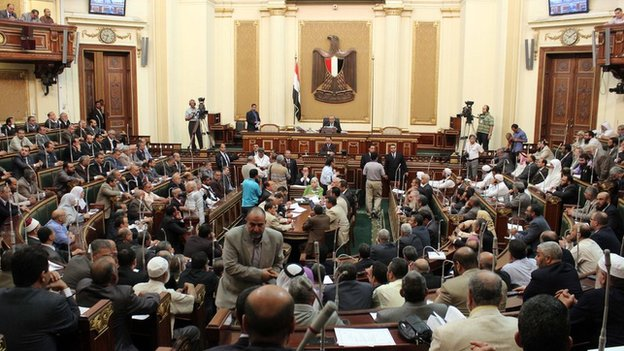 Egypt's House of Representatives (July 2012)