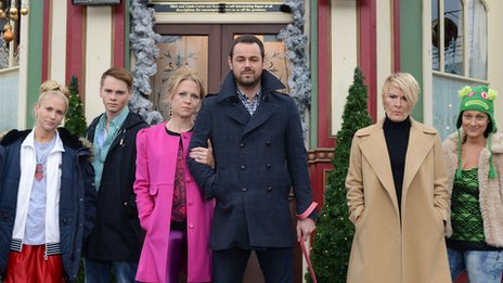 The Carter family in EastEnders