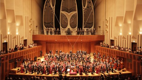 The Caracas Youth Orchestra at the Tokyo Metropolitan Art Space
