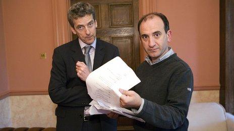 Peter Capaldi, Armando Iannucci