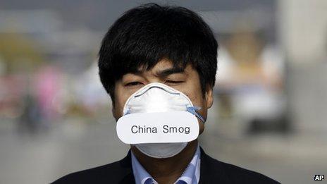 South Korea in a daze over Chinese haze