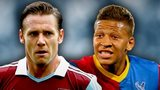 Kevin Nolan and Dwight Gayle