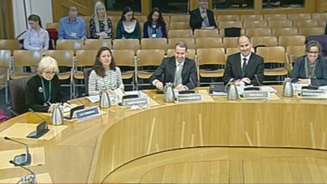 Witnesses before the Justice Committee