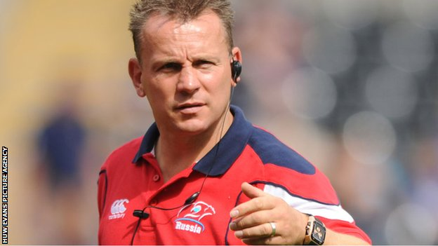 Newport Gwent Dragons assistant coach Kingsley Jones