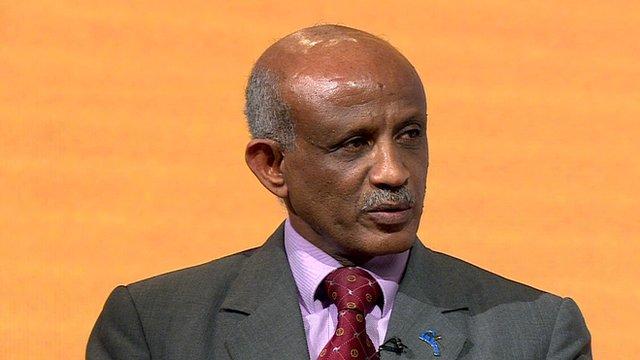 Eritrea Ambassador