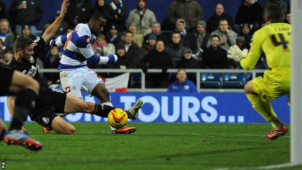 QPR's Junior Hoilett scores against Bournemouth