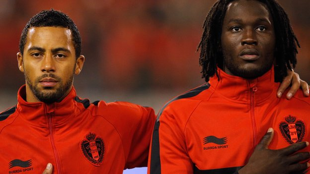 Mousa Dembele and Romelu Lukaku