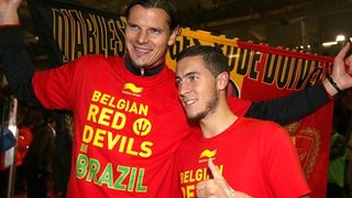Daniel van Buyten and Eden Hazard
