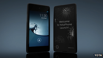 Two-screen phone with e-ink launched