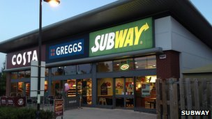Subway at Kingsway Retail Park