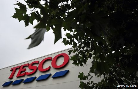 Tesco store in London