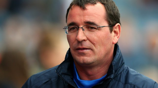 Blackburn manager Gary Bowyer