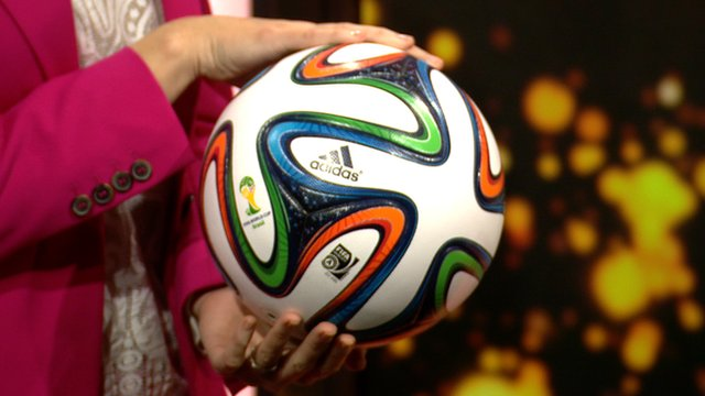 Official Adidas Brazuca Footballs For World Cup 2014 Are Making in Sialkot-Pakistan