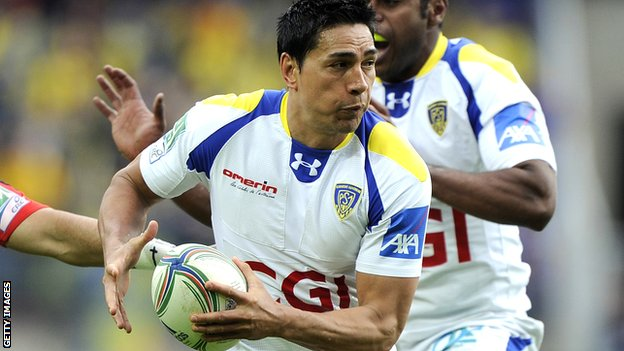 Regan King in action for Clermont Auvergne