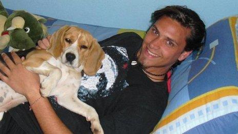 Sergio Marquez - Family picture